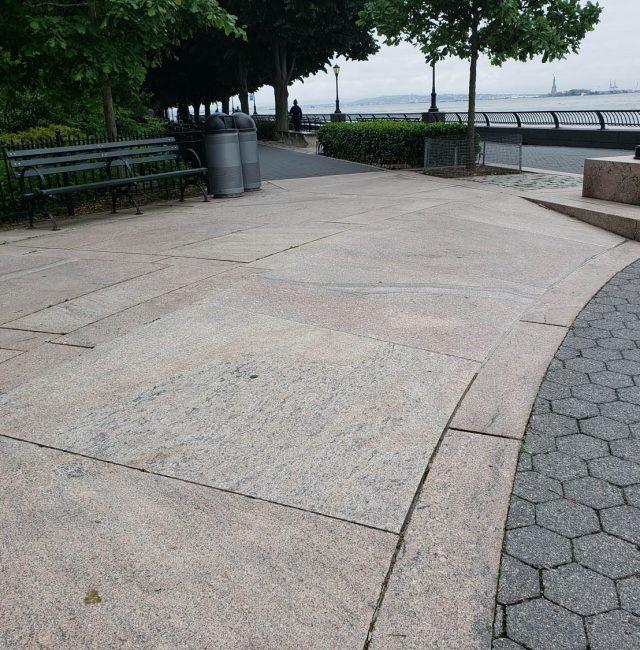Battery Park City Esplanade, Asphalt and Granite Remediation Project
