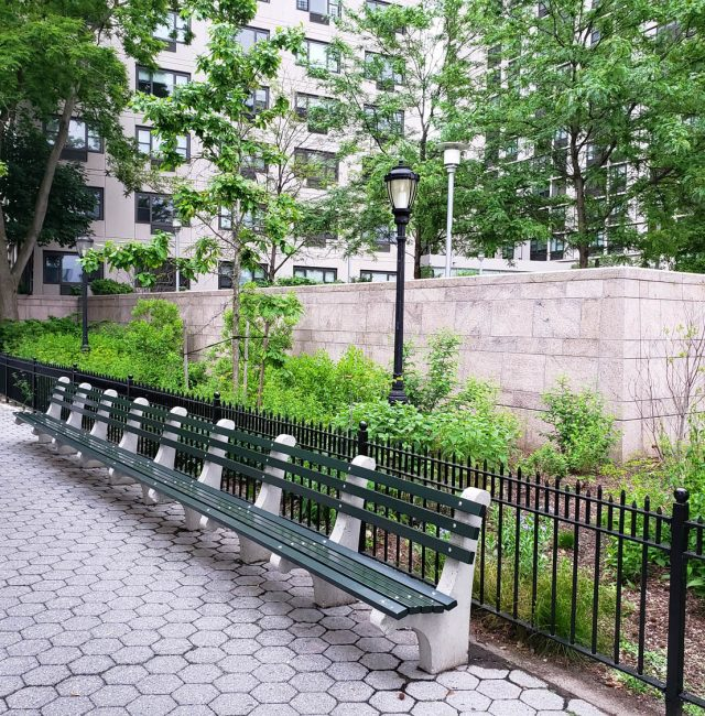 Battery Park City | Bed A Property Line Wall Repair