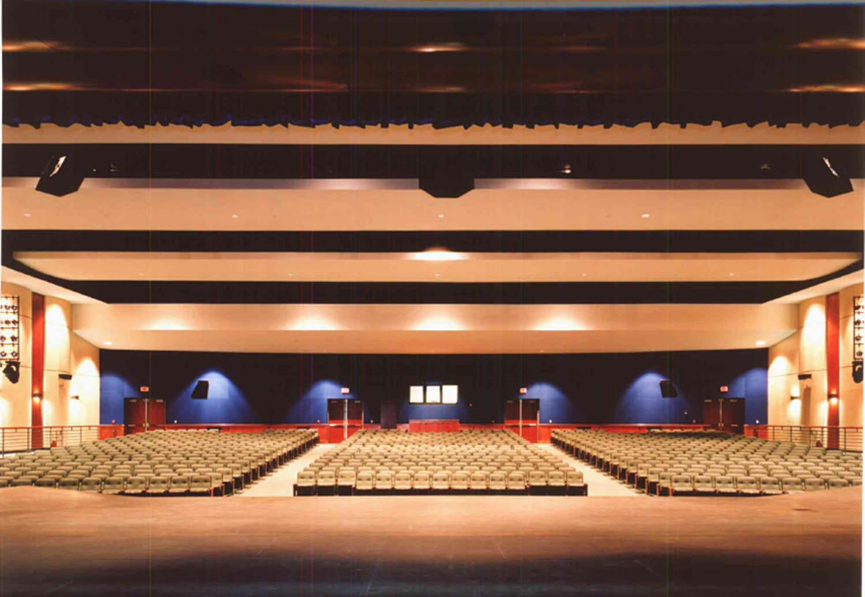 Roosevelt High School Reconstruction Project Auditorium